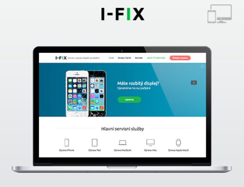 Портфолио Webswen сайт под ключ «Servis  Apple» I-FIX