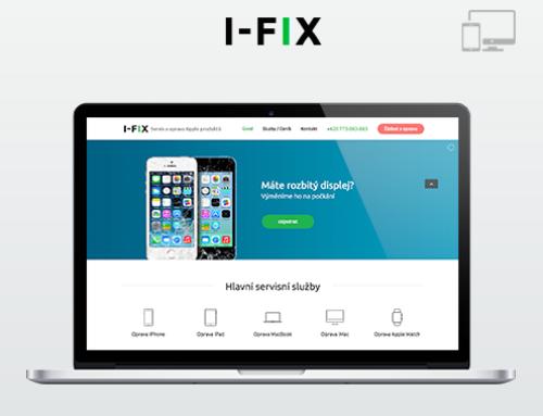 Портфолио Webswen сайт под ключ «Servis  Apple» I-FIX