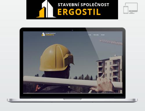 Портфолио Webswen сайт под ключ «Stavební společnost Ergostil .s.r.o»